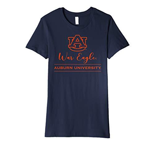 (Auburn Tigers War Eagle AU Women's NCAA T-Shirt 1702GG22)