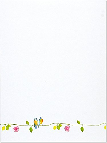 Watercolor Birds Stationery Set (Boxed Stationery)]()