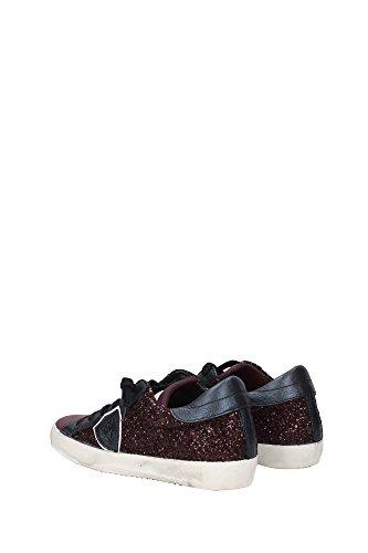 CLLDGG30 Philippe Model Sneakers Mujer Glitter Morado Morado
