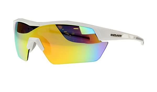 995417c5d5b Amazon.com  Rawlings Kids  134 Baseball Sunglasses (White Orange)  Sports    Outdoors