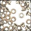 WIDGETCO 5mm Nickel Shelf Pin Sleeves