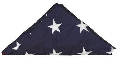 Valley Forge Replacement Nylon Flag Embroidered Stars, Sewn Stripes Perma-Nyl 5' X 8' United States