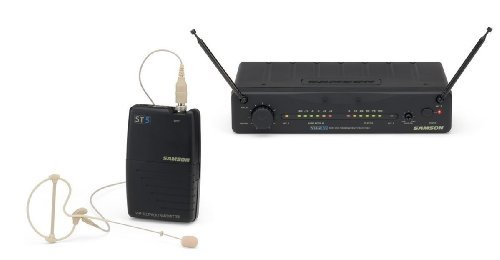 Samson Stage 55 VHF TD Wireless System with SE10 Headset - Channel 11 by Samson Technologies