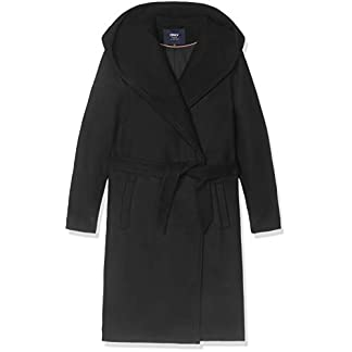 ONLY Damen Onlriley Wool Coat Cc OTW Mantel, Schwarz (Black Black), Large (Herstellergröße:L) 1