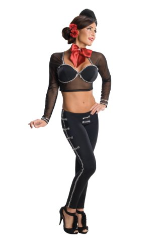 Secret Wishes La Adelita Costume, Black, Large (2)