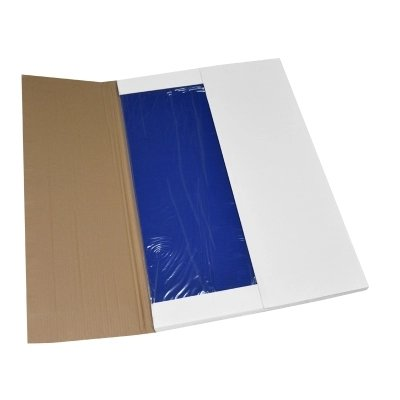 MWIMBEIWM 300sheets Sticky Mat 36'' x 24''Blue Clean Room Adhensive Tacky Replacement Blue Laboratory