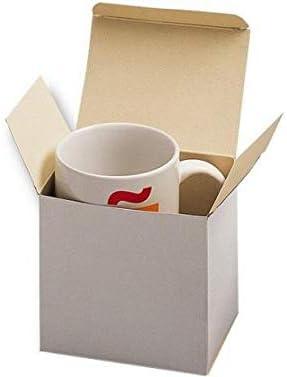 Pack de 20 Cajas de cartón para Tarjetas de visita o Tazas: Amazon.es: Oficina y papelería