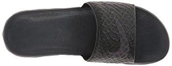 Nike Men's Benassi Solarsoft Slide Sandal, Blackanthracite, 10 D(m) Us 7