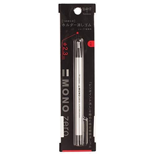 Tombow 57305 MONO Zero Eraser, Round, 1-Pack. Easy To Use Refillable Precision Tip Eraser