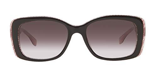 Fendi 0002/S Sunglasses-07PH Brown Burgundy Pink (K8 Brown Gradient Lens)-53mm