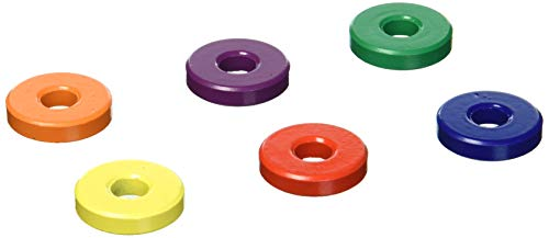 (Dowling Magnets Ceramic Ring Magnets (6 Count), 1 1/8