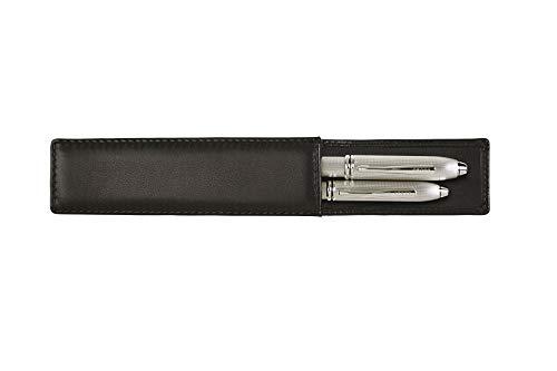 Cross Classic Century Double Pen Case Black Leather (pen not included)