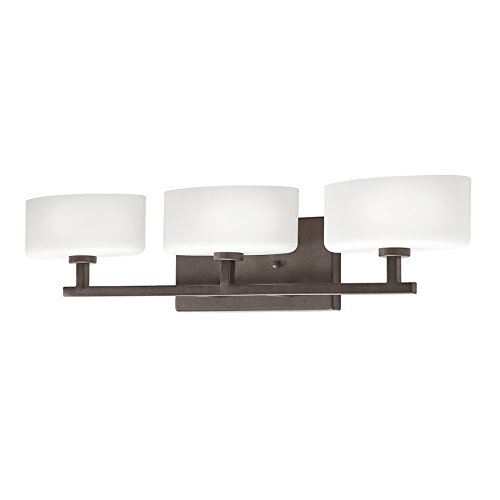 315qM5Zo0ZL - Kichler Lighting 3-Light Aiden Tannery Bronze Standard Bathroom Vanity Light