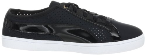 Puma Perforated Kai Shoe Black Lo qY6wY4T