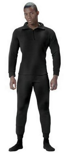 Military Polyester Thermal Black Underwear Bottoms Military Polypropylene Thermal Underwear Bottoms