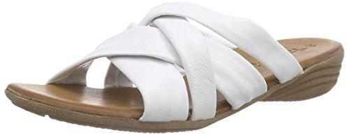 Tamaris 27102 - Mules Mujer Blanco - blanco (White 100)
