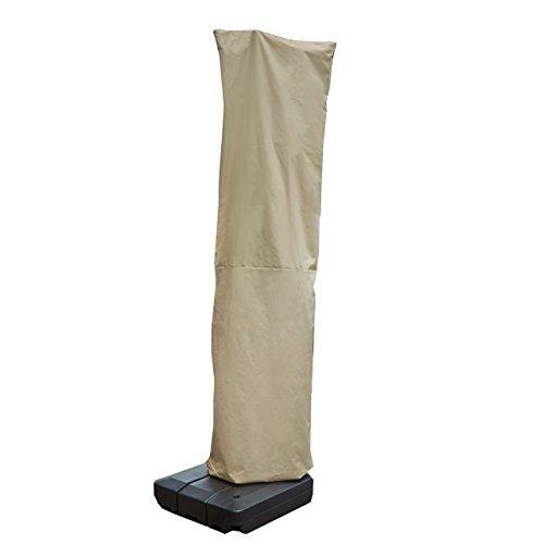 Seasons Select CVU01467 Offset Umbrella Cover, Large, Almond