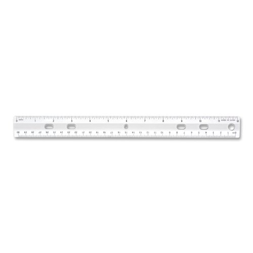 S.P. Richards Company Standard Metric Ruler, 12