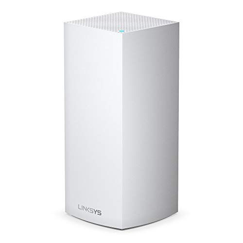Linksys Velop WiFi 6 Mesh Router (WiFi 6 Mesh WiFi System for Whole-Home WiFi Mesh Network) MX5 Velop Ax (1-Pack, White) from Linksys