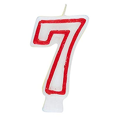 Number 7 Birthday Candle: Cell Phone Carrying Cases: Kitchen & Dining