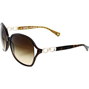 Coach Sunglasses - Natasha / Frame: Brown Lens: Brown Gradient