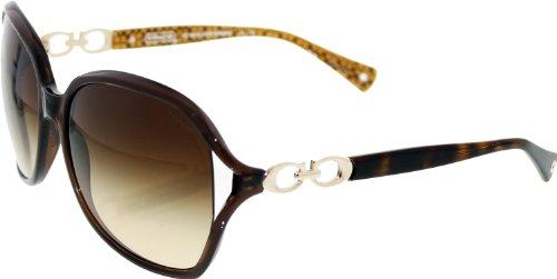 Coach Sunglasses - Natasha / Frame: Brown Lens: Brown - Womens Coach Sunglasses