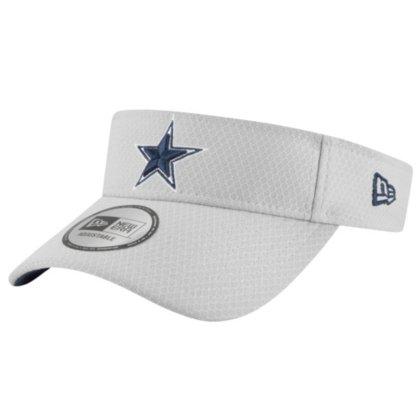 New Era Dallas Cowboys Training Visor OSFM, Grey