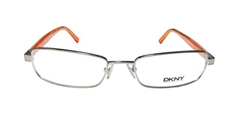DKNY 5558 WomensLadies Designer Full-rim Flexible Hinges EyeglassesEye Glasses (52-18-140 Gunmetal  Black)