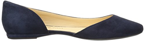 Nine West Women's SPRUCE9X9 Suede Ballet Flat Navy Suede discount footlocker pictures 8DSybvbp1