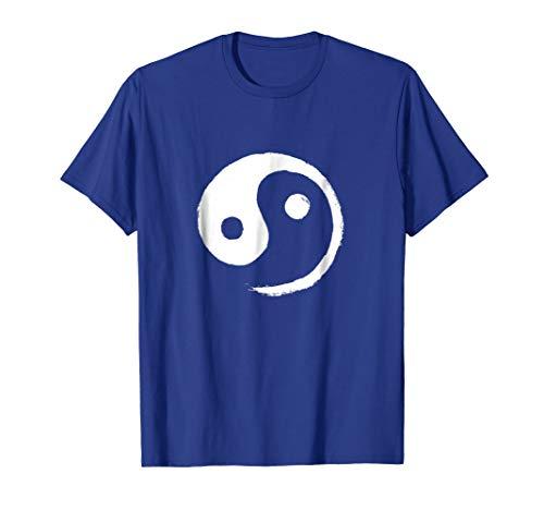 (Yin-Yang Taiji T-Shirt (White on Light))