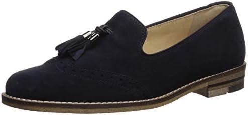 ara Women's Kayla Shoe, Blue Suede, 3.5 NarrowWide Shaft UK