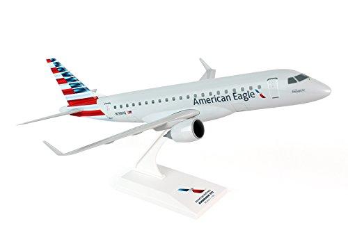 Daron Worldwide Trading SKR763 Skymarks American Eagle ERJ175 1/100 New Livery Republic Model (Nyc Eagle)
