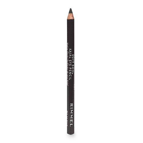 Rimmel Soft Kohl Kajal Eye Pencil, Jet Black 0.04 oz (1.2 g) by - Pencil Soft Kohl