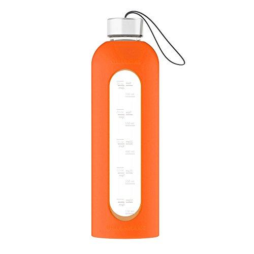 reusable glass water bottle - 8