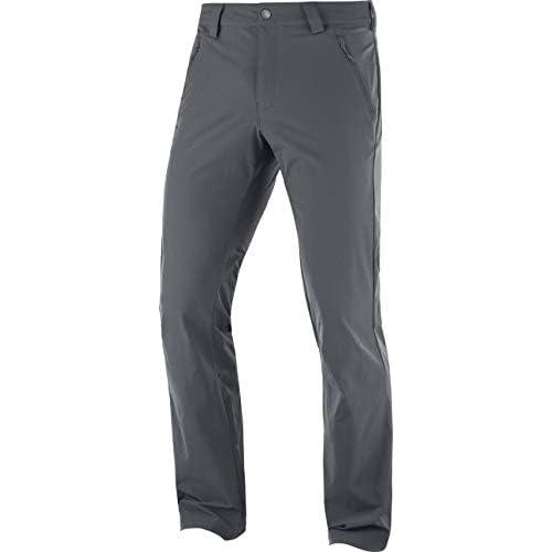 chollos oferta descuentos barato SALOMON Wayfarer Straight LT Pant Pantalón de Exterior Hombre Gris Ebony XS
