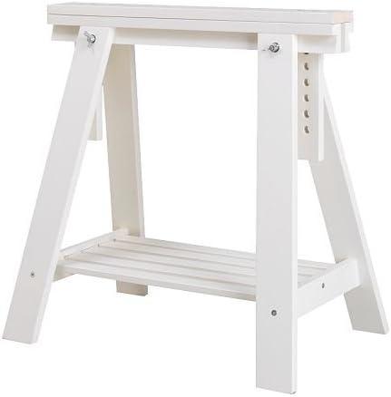Ikea FINNVARD – Caballete con Estante, Blanco – 70 x 71/93 cm ...