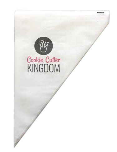 Royal Bag - COOKIECUTTERKINGDOM Tipless Piping Bag. 100 Pieces 12 Inches in Professional Grade Thickness. Trusted by Bakers for Cookie, Cupcake, and Cake Decorating.