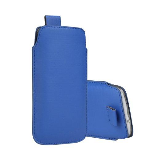 Slim Sacoche pour Cubot C9+ 4Case Coque de protection pour Téléphone portable chaussette en bleu