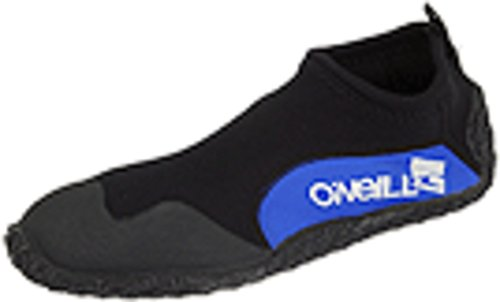O'Neill Reactor 2 2mm Reef Booties, Black/Pacific, 10