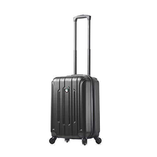 Price comparison product image Mia Toro Crosetti Hardside Spinner 20'' Carry-on Luggage,  Black