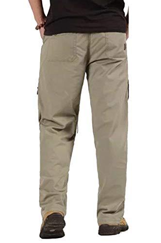 Couleur Longtemps Poches Grau Soyez Coton Plusieurs Hommes Lâche Décontracté Pour De Mode Confortable Champ Pantalon Le Solide 7t1wqU8x