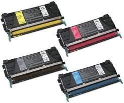 (Ink Now Compatible 1 of ea Color Toner Works with Lexmark C734, C734N, C734DN, C734DTN, C734DW, C736, C736N, C736DN, C736DTN, X734, X734DE, X736, X736DE, X738, X738DE, X738DTE Printers)