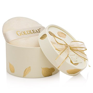 Thymes Goldleaf Dusting Powder with Puff (Thyme Dress)