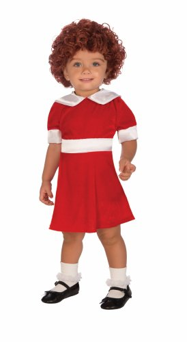 [Forum Novelties Little Orphan Annie Child Costume, Toddler] (Cute Unique Costumes)