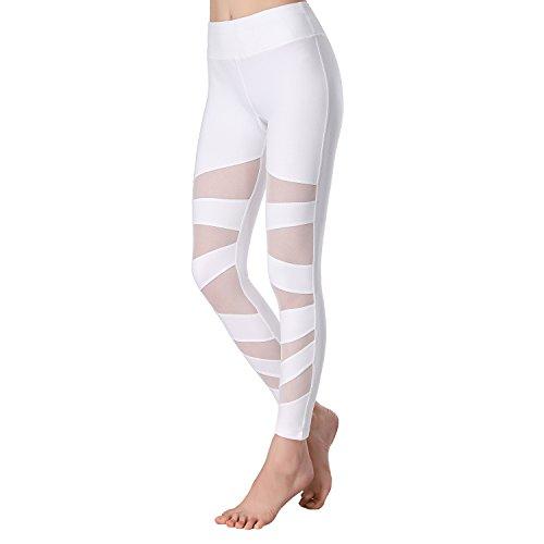 f2fe491ebde928 White Mesh Leggings - Hardon Clothes