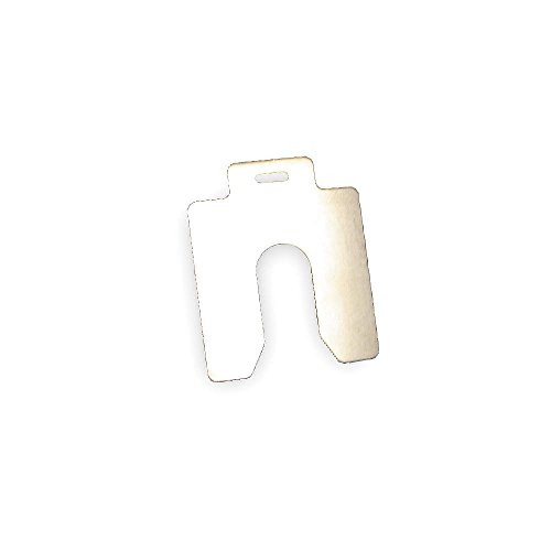 Slotted Shim, A-2x2 Inx0.100In, PK5