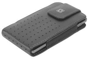 Viesrod Teramo Vertical Leather Case Black For Pantech Razzle (TXT8030)