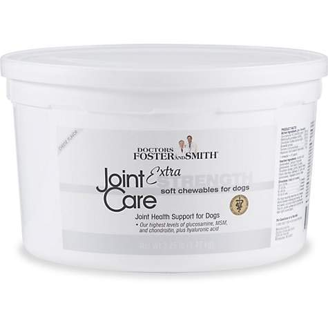DRS. Foster and Smith Extra Strength Joint Care Soft Chews for Dogs (3.25 LBS)