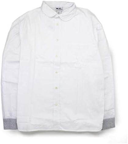 メンズ シャツ 2WAY ショールカラー ロングスリーブ シャツ G399659 gym master (ホワイト(01), Mサイズ)