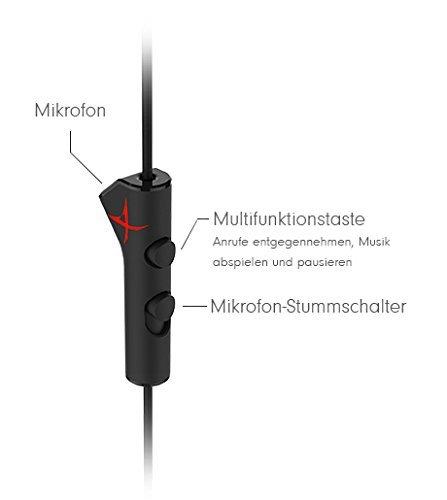 ab449622b2c Creative Sound BlasterX P5 In-Ear Gaming Headset (Geräuschunterdrückung,  Titanbeschichtete Treiber) schwarz